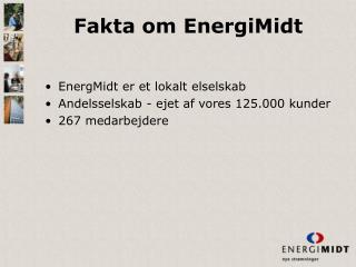 Fakta om EnergiMidt
