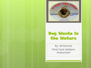 Dog Waste in the Waters