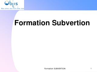 Formation Subvertion