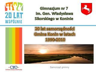 Gimnazjum nr 7 im. Gen. Władysława Sikorskiego w Koninie