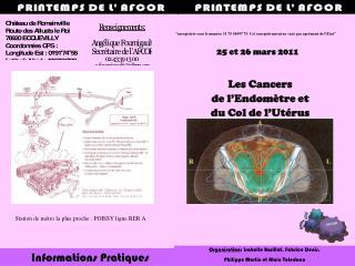 Les Cancers de l'Endomètre et du Col de l'Utérus