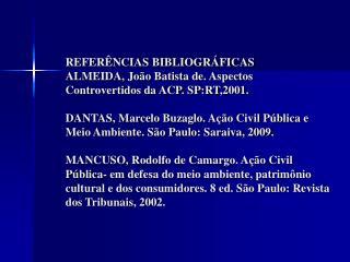 Ref Bibliográficas