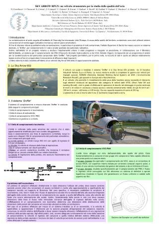 SKY ARROW RPGN: un velivolo strumentato per lo studio della qualità dell'aria