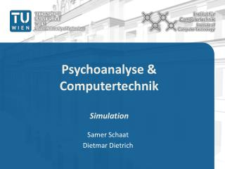 Psychoanalyse & Computertechnik Simulation