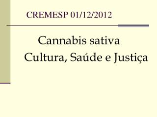 CREMESP 01/12/2012