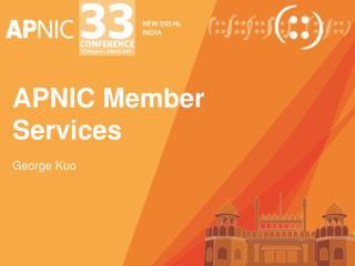 APNIC Member Services