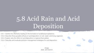 5.8 Acid  Rain and Acid Deposition
