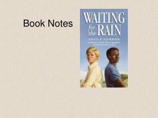 Book Notes