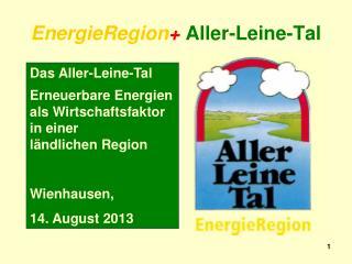 EnergieRegion + Aller-Leine-Tal