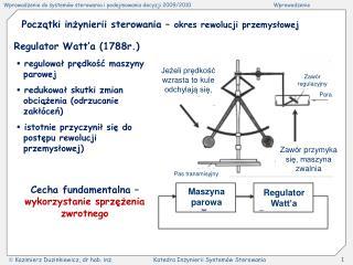 Początki inżynierii sterowania – okres rewolucji przemysłowej