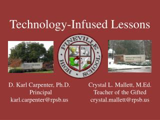 Technology-Infused Lessons
