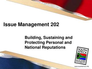 Issue Management 202