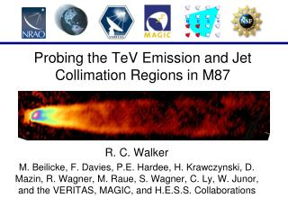 Probing the TeV Emission and Jet Collimation Regions in M87