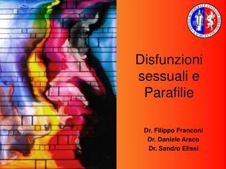 Disfunzioni sessuali e Parafilie