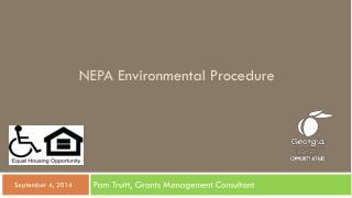 NEPA Environmental Procedure