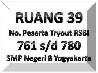 RUANG 39