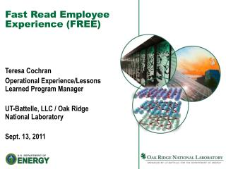 Fast Read Employee Experience (FREE)