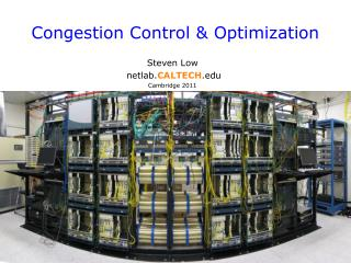 Congestion Control & Optimization