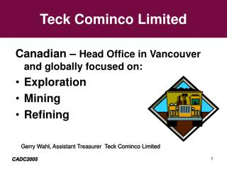 Teck Cominco Limited