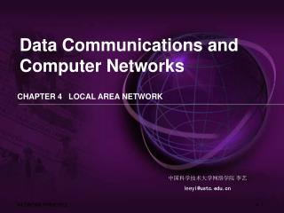 CHAPTER 4   LOCAL AREA NETWORK
