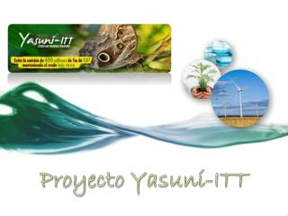 Proyecto Yasun í -ITT