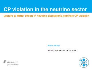 CP violation in the neutrino sector