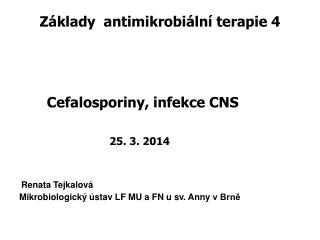 Základy antimikrobiální terapie 4