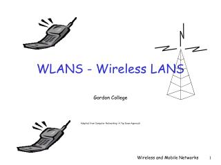 WLANS - Wireless LANS