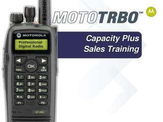 Capacity Plus Sales Training
