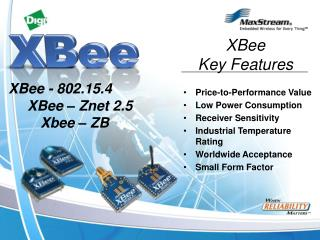 Price-to-Performance Value Low Power Consumption Receiver Sensitivity
