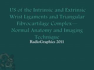 RadioGraphics 2011