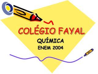 COLÉGIO FAYAL