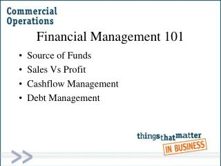 Financial Management 101