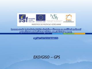 EKO/GISO – GPS