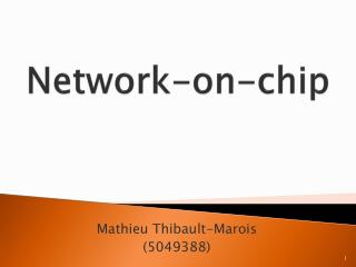 Network-on-chip