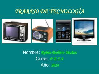TRABAJO DE TECNOLOGÍA