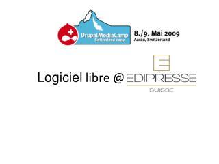 Logiciel libre @ Edipresse