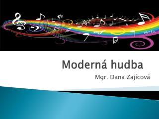 Moderná hudba