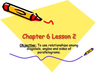 Chapter 6 Lesson 2