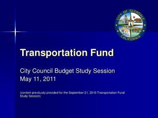 Transportation Fund
