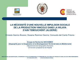 LA NÉCESSITÉ D'UNE NOUVELLE IMPULSION SOCIALE DE LA PRODUCTION VINICOLE DANS LA WILAYA