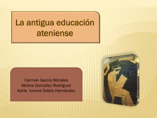 La antigua educación ateniense