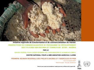 CENTRE NATIONAL POUR LA MÉCANISATION AGRICOLE, ILORIN