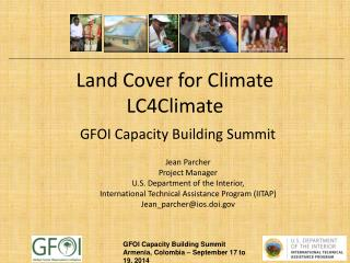 Land Cover for Climate LC4Climate