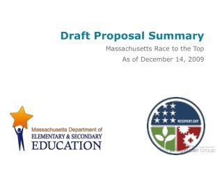Draft Proposal Summary