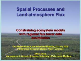 Spatial Processes and Land-atmosphere Flux