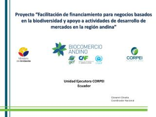 Unidad Ejecutora CORPEI Ecuador