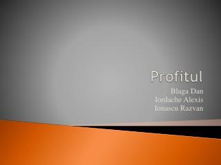 Profitul