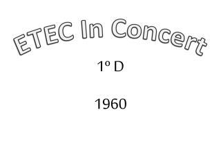 ETEC In Concert