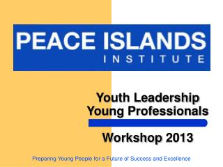 Youth Leadership Young Professionals Workshop 2013
